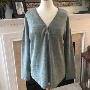 Soft Surroundings Mint Green Sweater